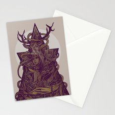 Beautiful Deer Stationery Cards
