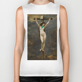The Cross Biker Tank
