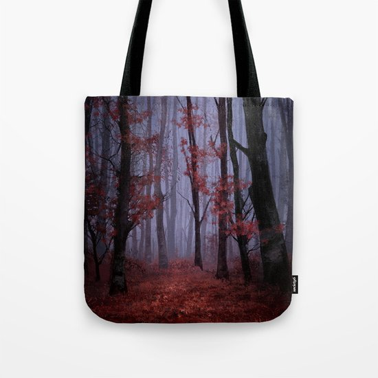 red forest 2 Tote Bag