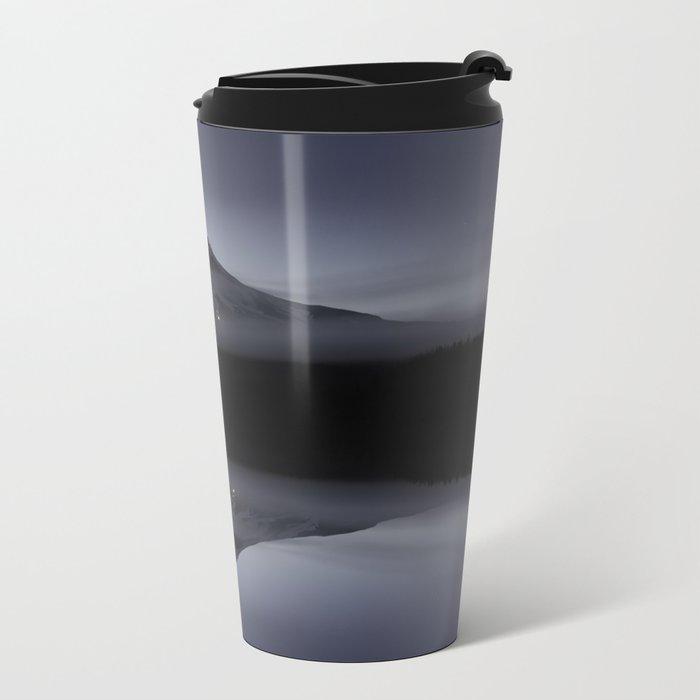 Trillium Lake Reflection Metal Travel Mug