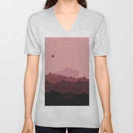 Love Mountain Range Unisex V-Neck
