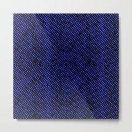 Simple Promise Neon Royal Blue  0323 Metal Print