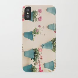 Flowerpots iPhone Case
