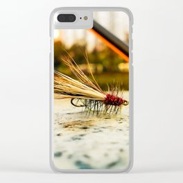 Caddis Fly Clear iPhone Case