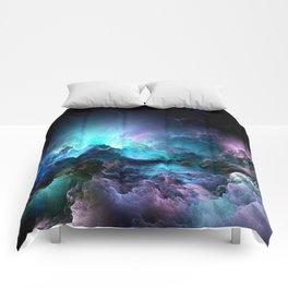 Unreal Stormy Ocean Comforters