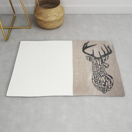 Rudolph and friends Rug