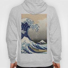 Katsushika Hokusai, The Great Wave off Kanagawa, 1831 Hoody