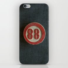 Eighty Eight iPhone & iPod Skin
