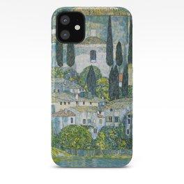 Gustav Klimt - Church in Cassone iPhone Case