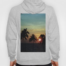 Sunset at Mauna Kea Beach, Hawaii Sky Hoody