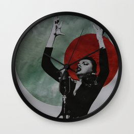 Just a singer Wall Clock
