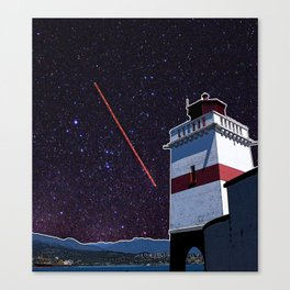 Stars in Stanley Park Canvas Print
