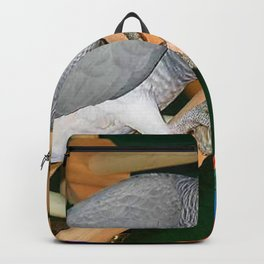 Doobie the parrot Backpack