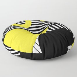 Memphis Design Pattern 7 Floor Pillow