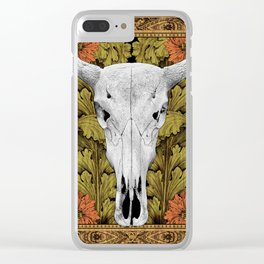 Cow Skull - Bohemian Decoration Clear iPhone Case