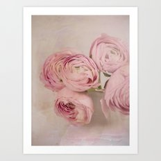 Pink is beautiful Art Print