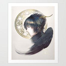 Noctis Lucis Caelum Art Print