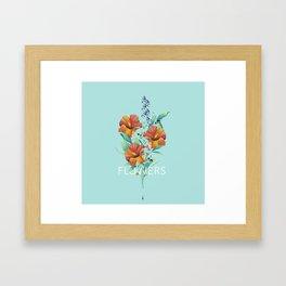 Hibiscus Bouquet Framed Art Print