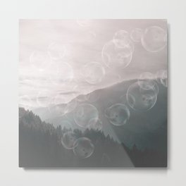 Dreamy Outdoor Mountain Landscape Metal Print