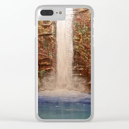 The Spirit of the Land Clear iPhone Case