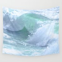 splash Wall Tapestries featuring SPLASH by Teresa Chipperfield Studios