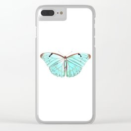 Butterfly Flutter By Clear iPhone Case
