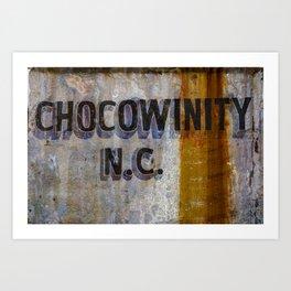 Chocowinity North Carolina Art Print