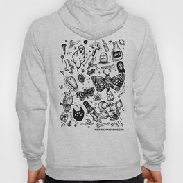 Spooky Flash Sheet - Black Hoody