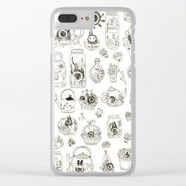 Terrariums Clear iPhone Case