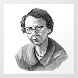 Flannery O'Connor Art Print