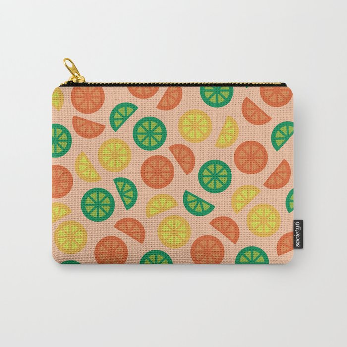 Fruity Slices Carry-All Pouch