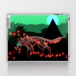 Lost ember wolf Laptop & iPad Skin