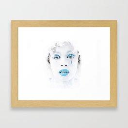 Tear Of Love Framed Art Print