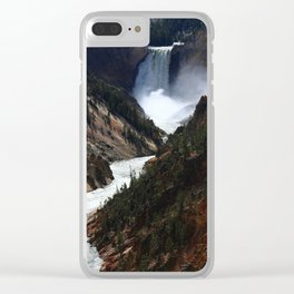 Grand Canyon of theYellowstone Clear iPhone Case