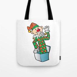 Cartoon Jack In The Box Tote Bag