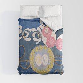 The Ten Largest No. 01 Childhood Group IV Hilma Af Klint Comforters