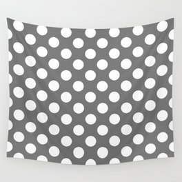 Lunares gris Wall Tapestry