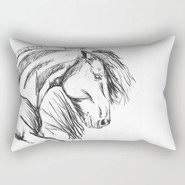 Sliding stop Rectangular Pillow