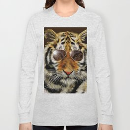 In the Eye of the Tiger Long Sleeve T-shirt