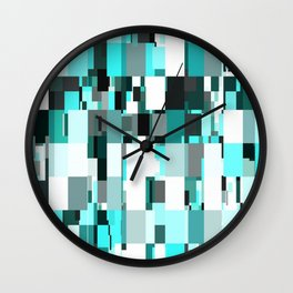 Blue Dazzle Wall Clock