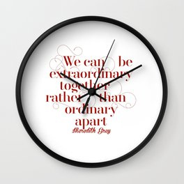 Extraordinary Wall Clock