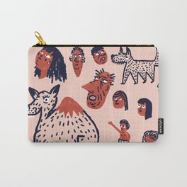 Desert People Carry-All Pouch