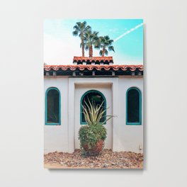 Palm Springs Metal Print