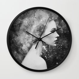 Head in the stars Wall Clock