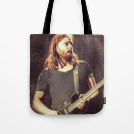 David Gilmour, Music Legend Tote Bag