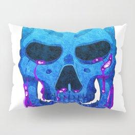 Marble Skull Pillow Sham