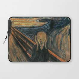 The Scream by Edvard Munch Laptop Sleeve