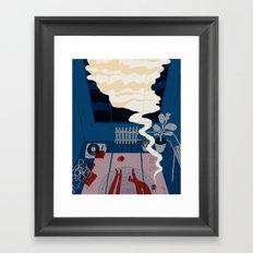 Midnight Talk Framed Art Print