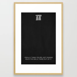 This is Spinal Tap - Stonehenge Framed Art Print