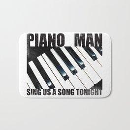 Piano Man Bath Mat
